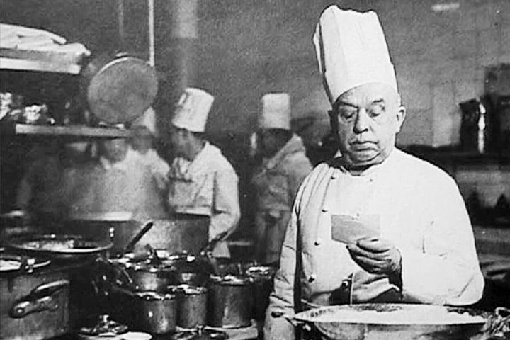 Auguste-Escoffier los grandes chefs