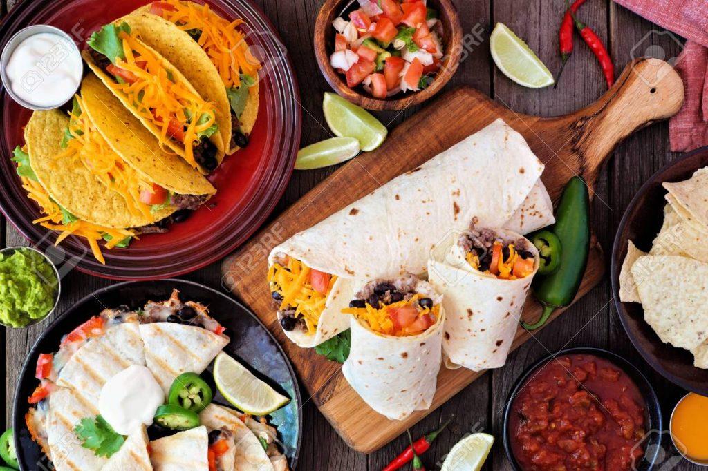 Nachos y burritos, poco mexicanos