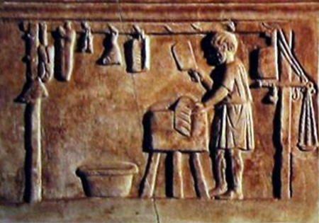 Los romanos hacían salchichas