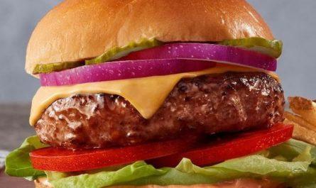 Hamburguesa de carne falsa